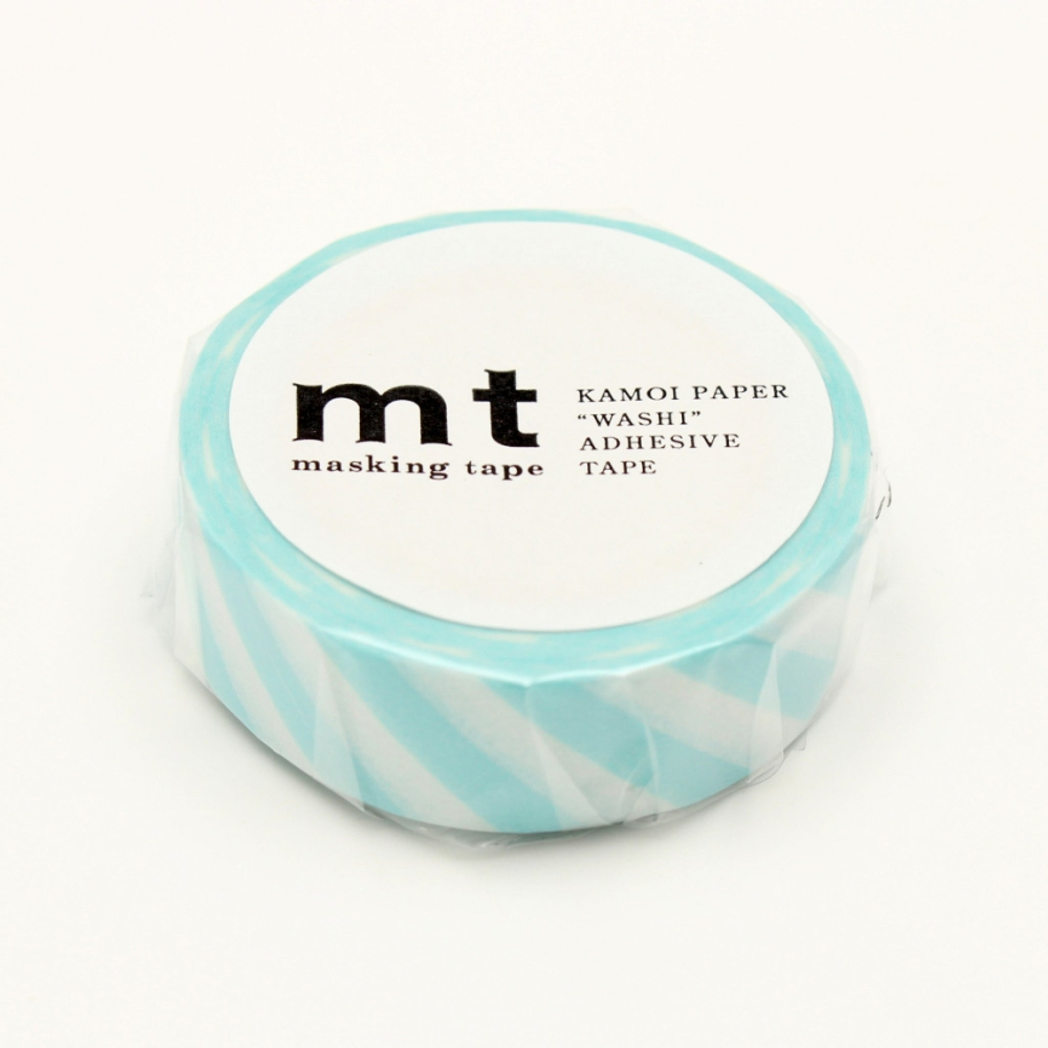 MT Deco Washi Tape Stripe Mint Blue