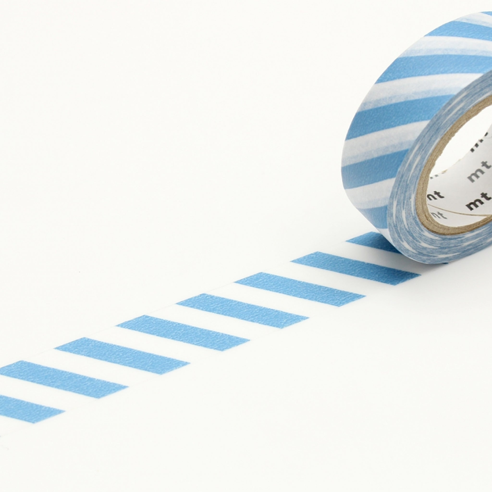 MT Deco Washi Tape Stripe Grayish Sky