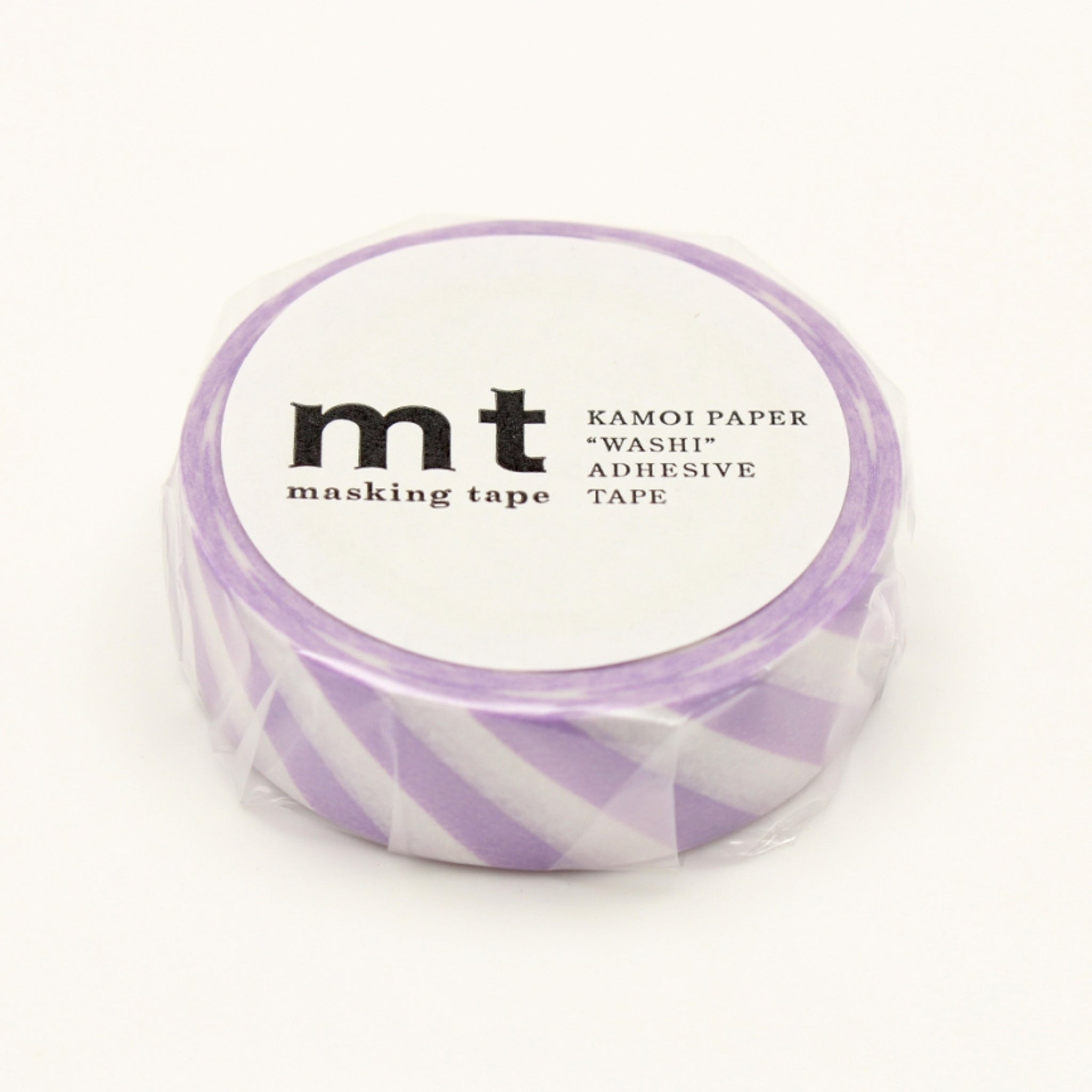 MT Deco Washi Tape Stripe Lilac