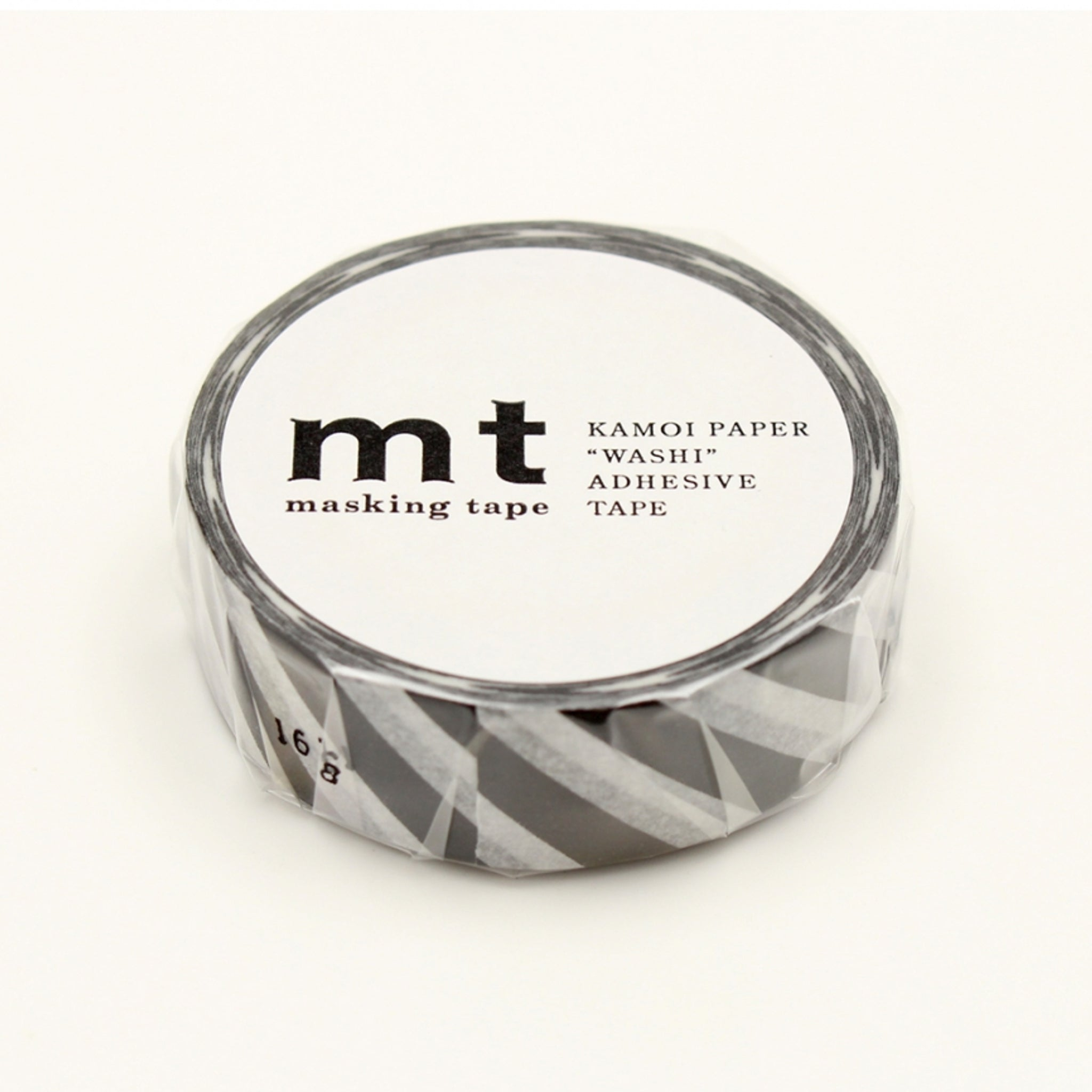 MT Deco Washi Tape Stripe Black