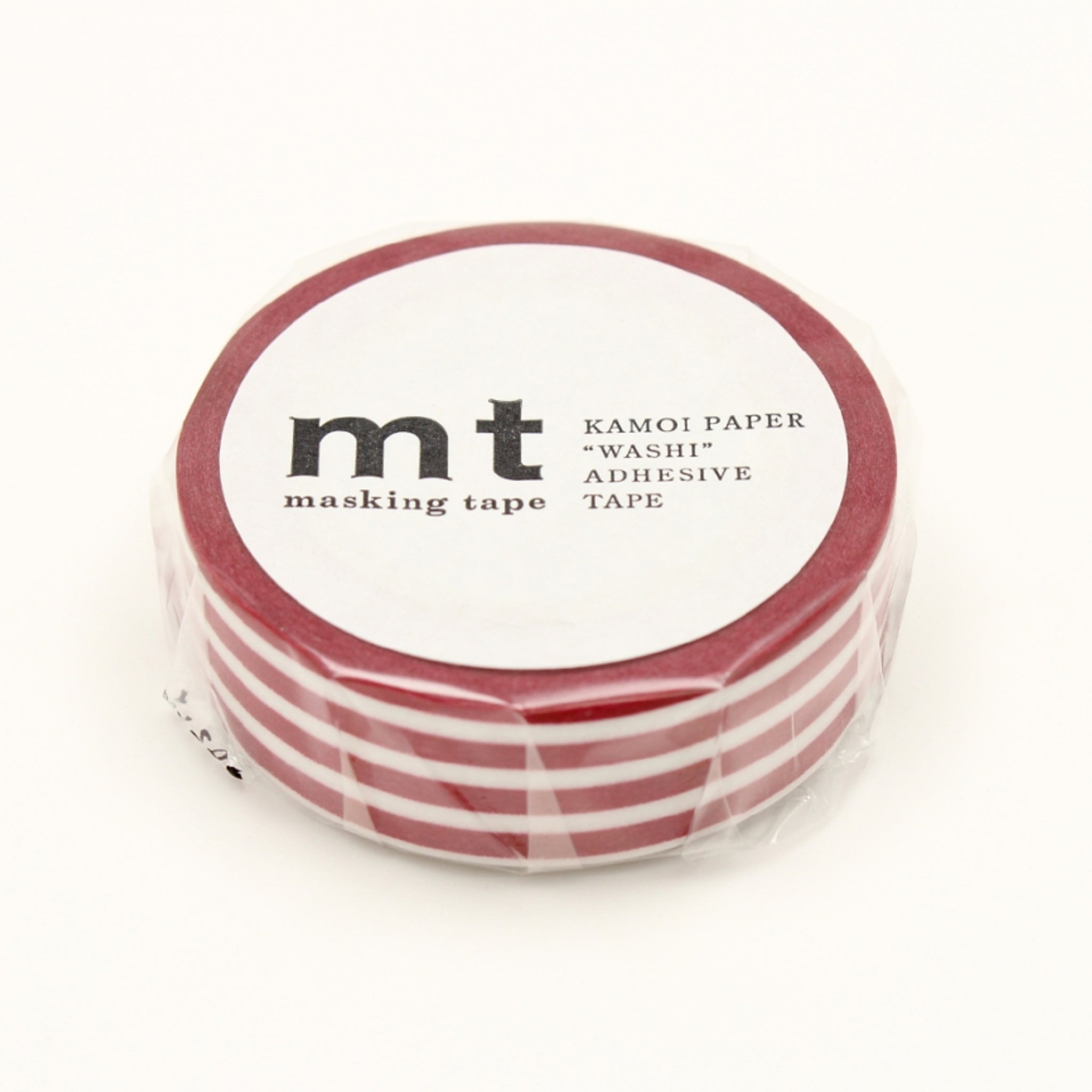 MT Deco Washi Tape Border Strawberry