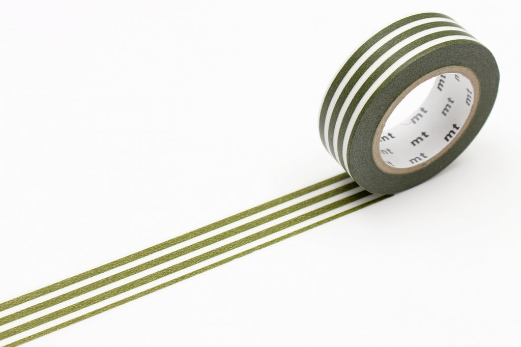 MT Border Olive washi tape (MT01D389)