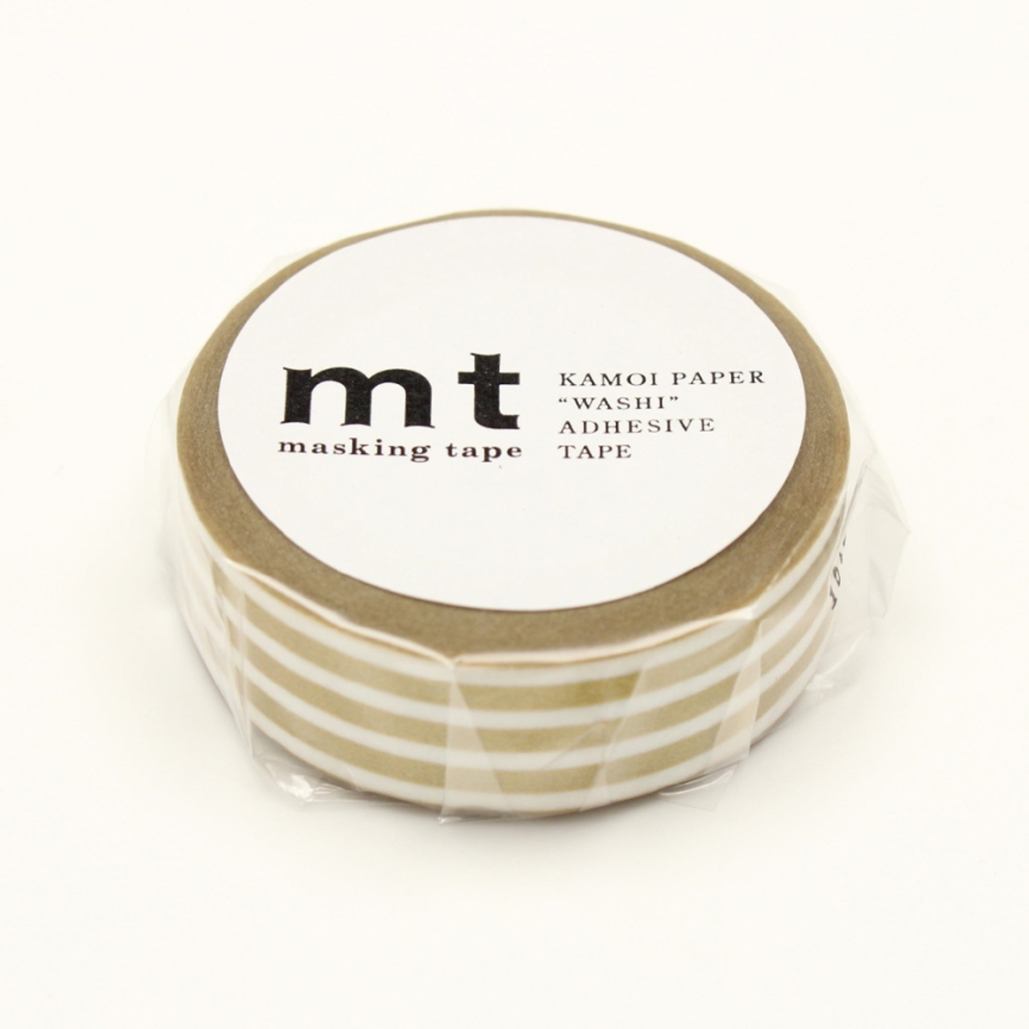 MT Deco Washi Tape Border Gold