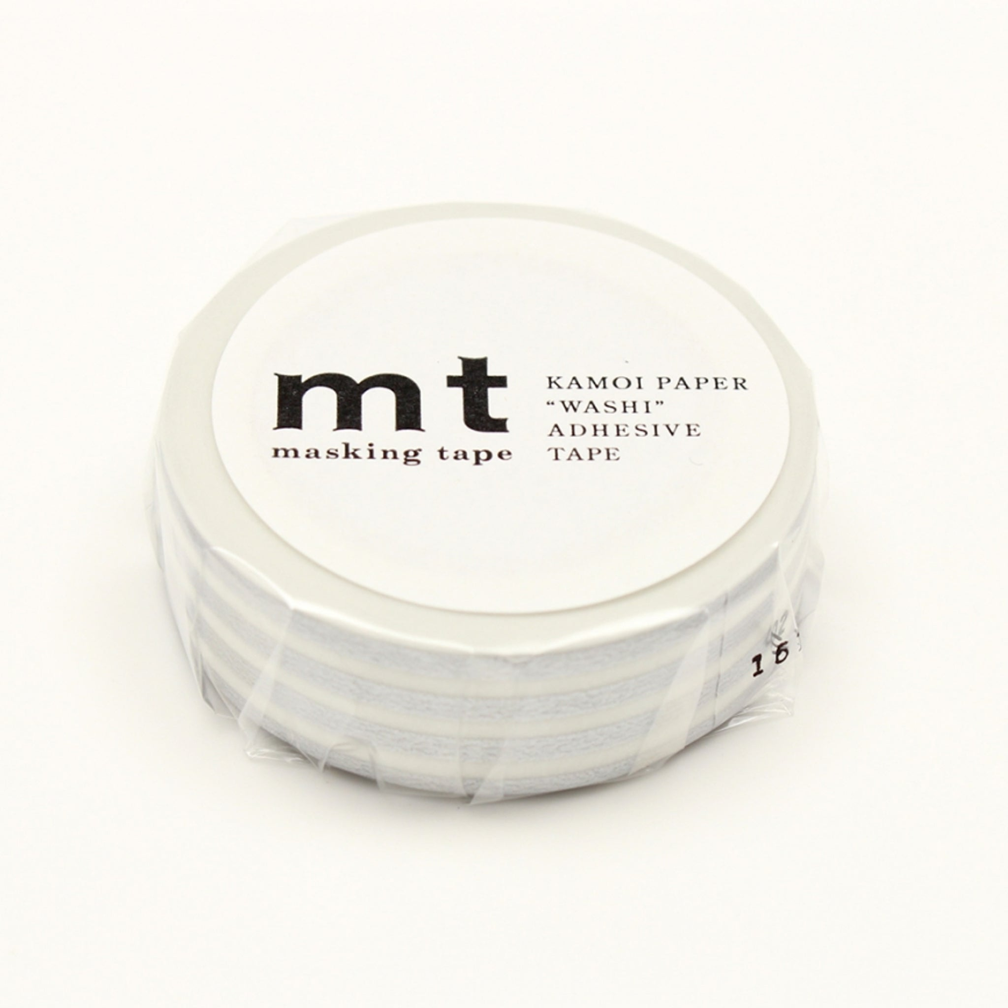 MT Deco Washi Tape Border Silver