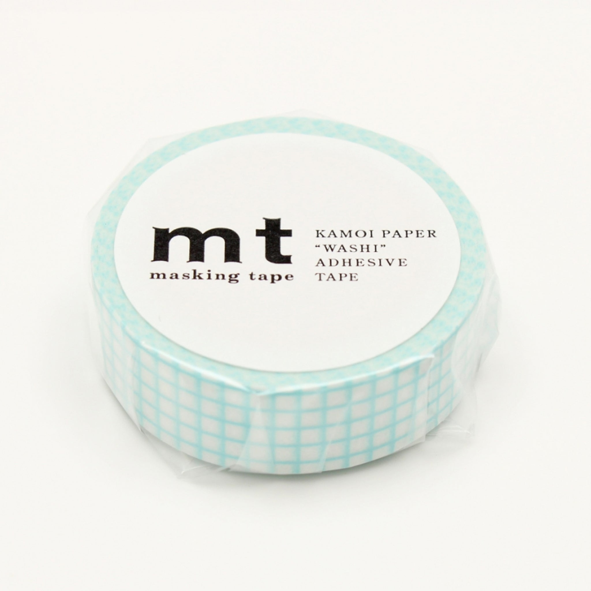 MT Deco Washi Tape Hougan Mint Blue