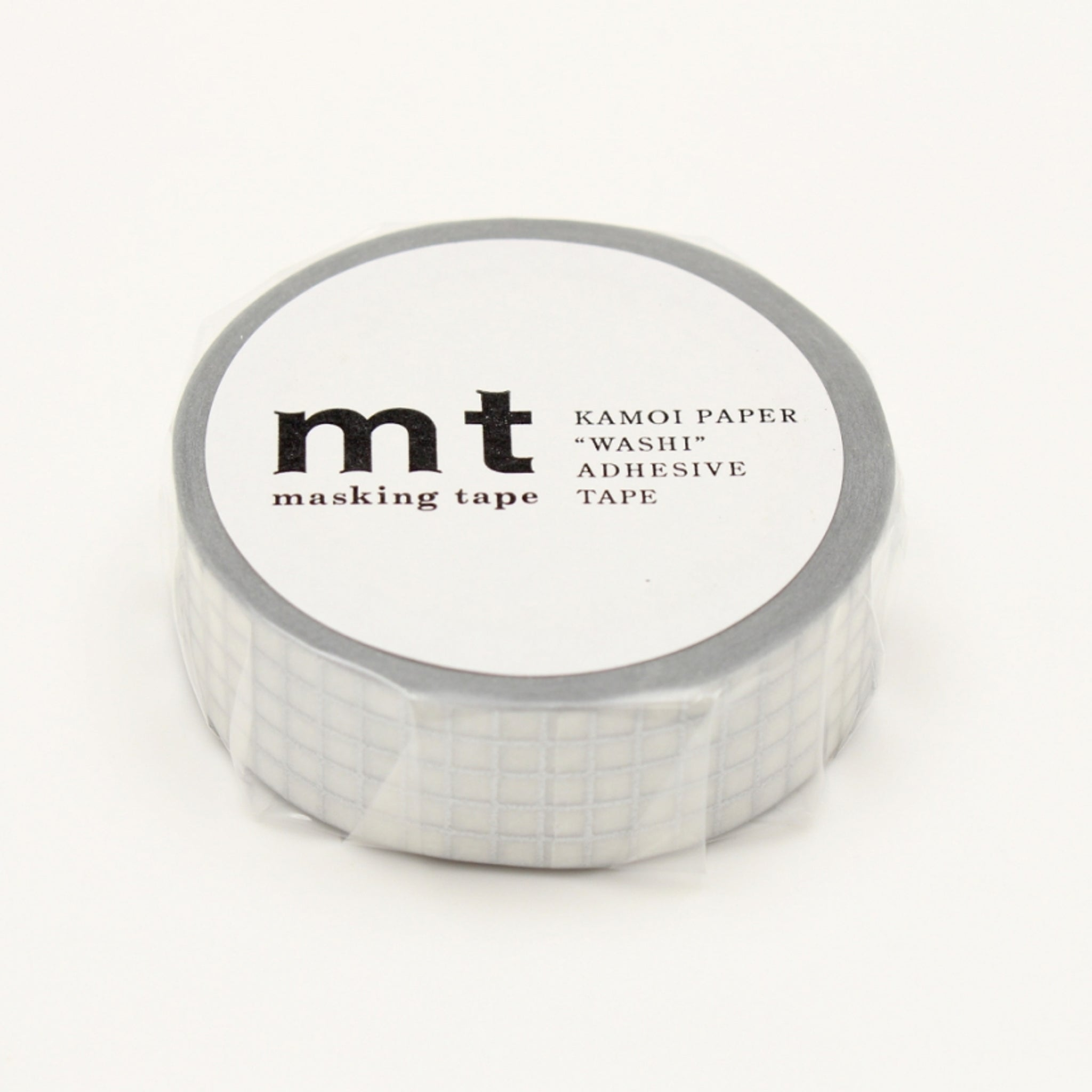 MT Deco Washi Tape Hougan Silver