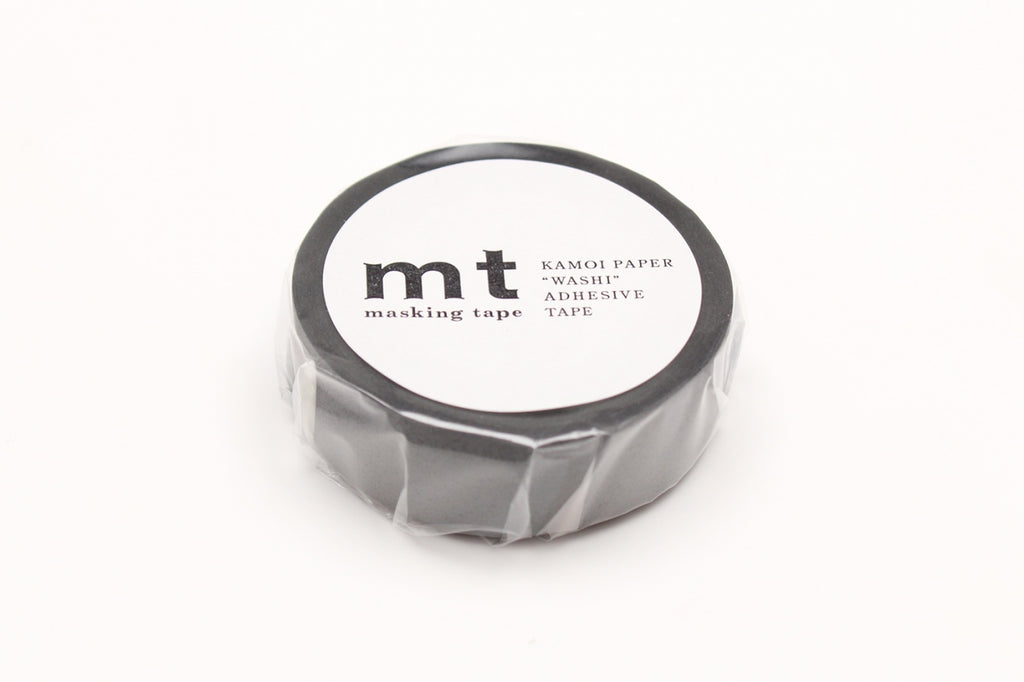 mt Matte Gray washi tape