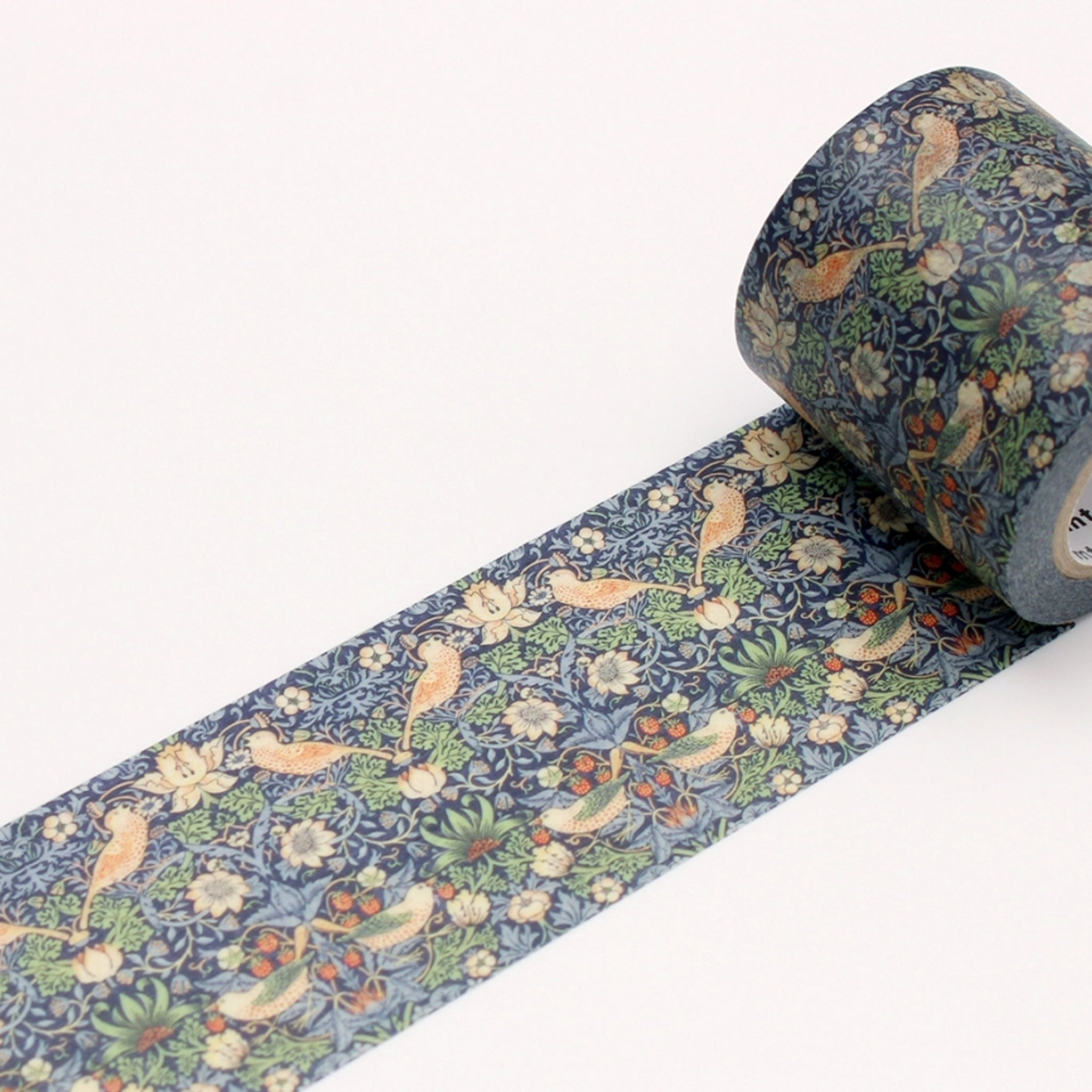 MT x William Morris Washi Tape Strawberry Thief