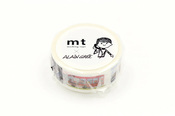 mt x Alain Gree Vehicle washi tape (MTALAN04) | Washi Wednesday