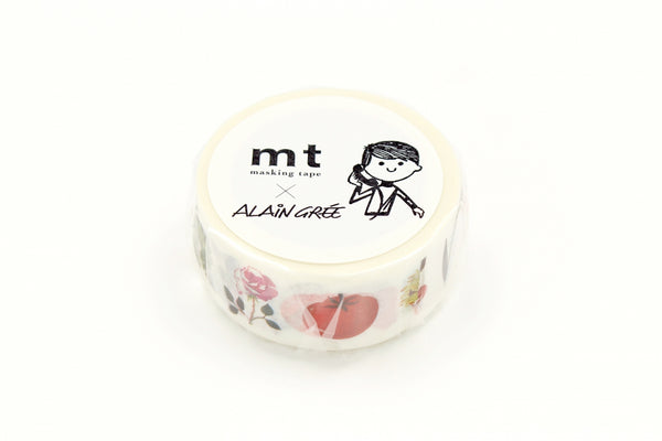 mt x Alain Gree Plant washi tape (MTALAN03) | Washi Wednesday