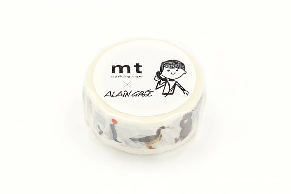 mt x Alain Gree Animal washi tape (MTALAN02) | Washi Wednesday