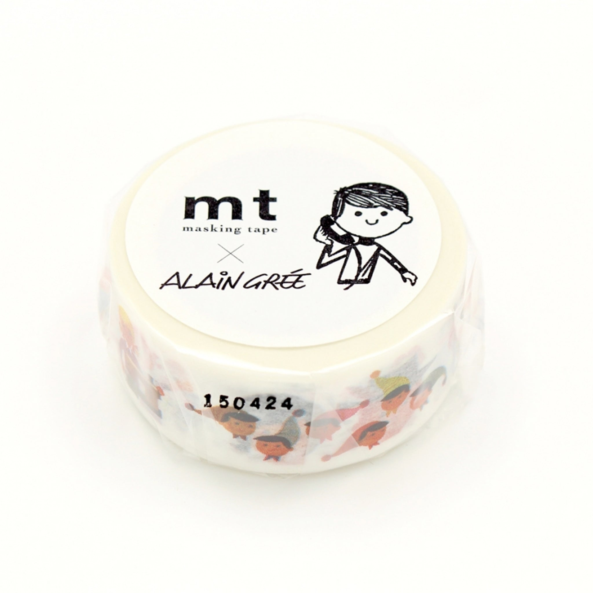 MT x Alain Gree Washi Tape Person