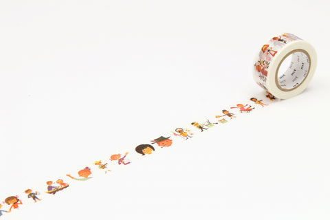 mt x Alain Gree Person washi tape (MTALAN01) | Washi Wednesday