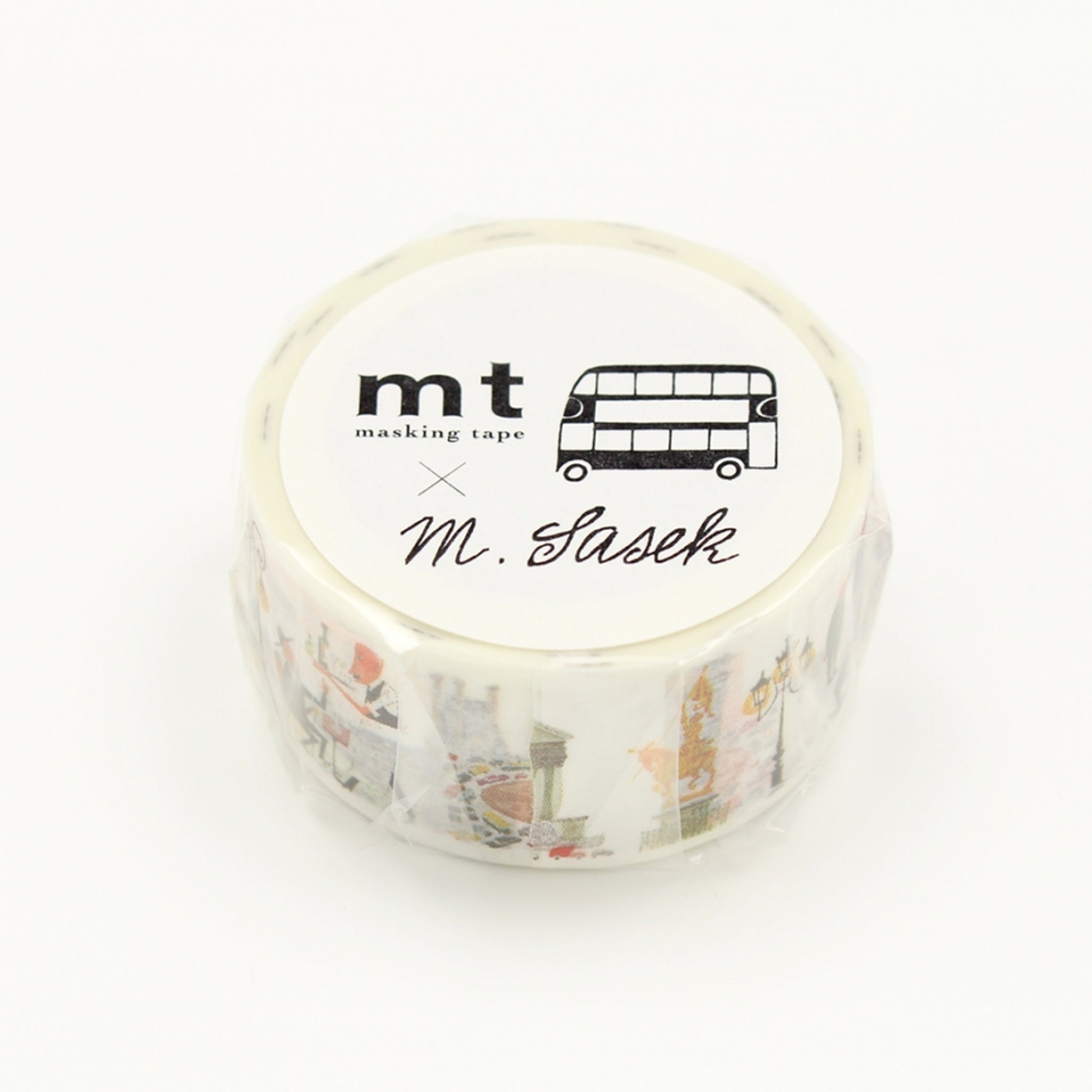 MT x Miroslav Sasek Washi Tape This Is Paris