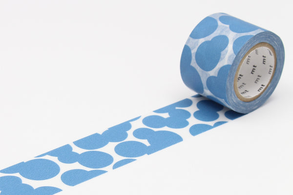 mt x mina perhonen soda water blue washi tape (MTMINA30) | Washi Wednesday