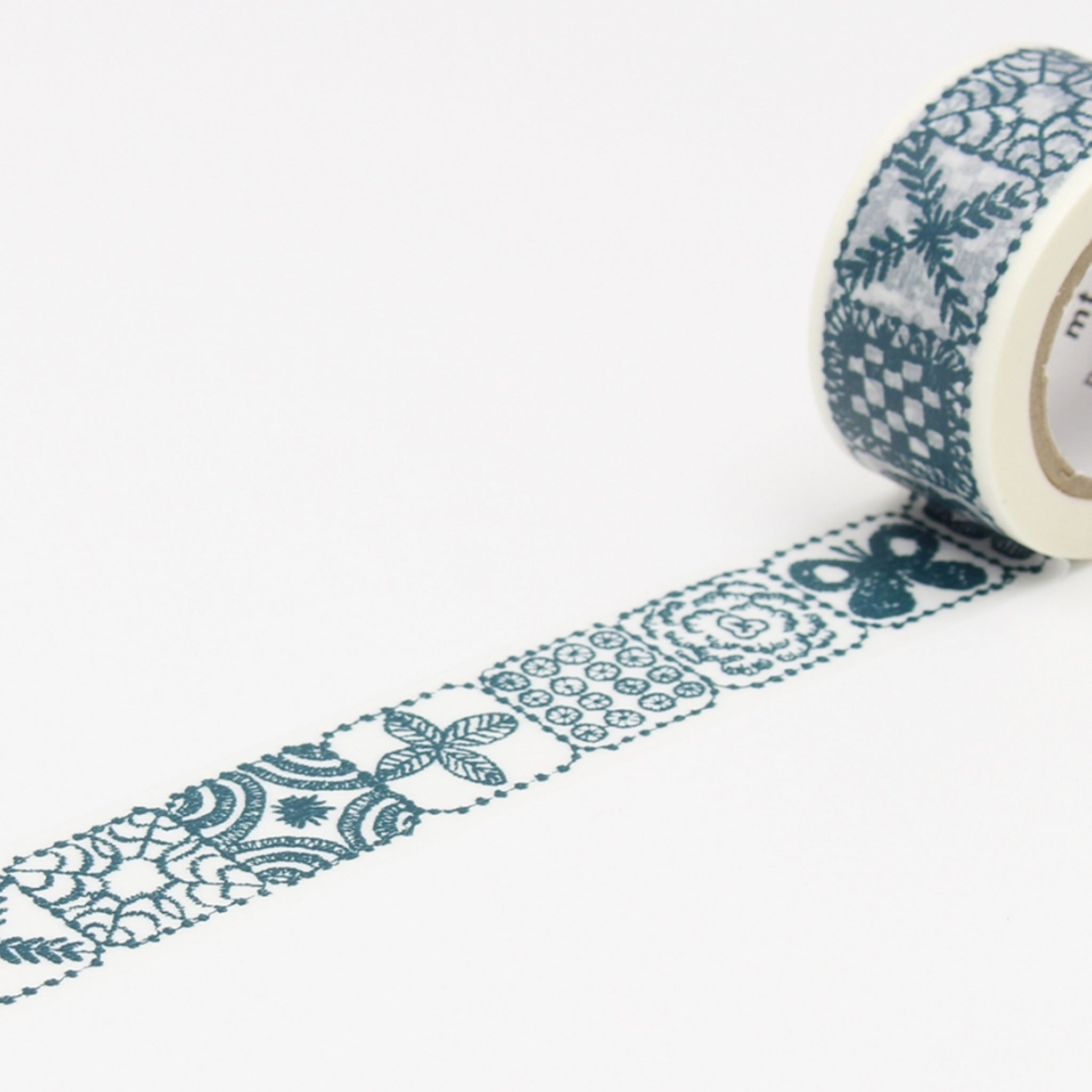 MT x Mina Perhonen Washi Tape Forest Tile Blue