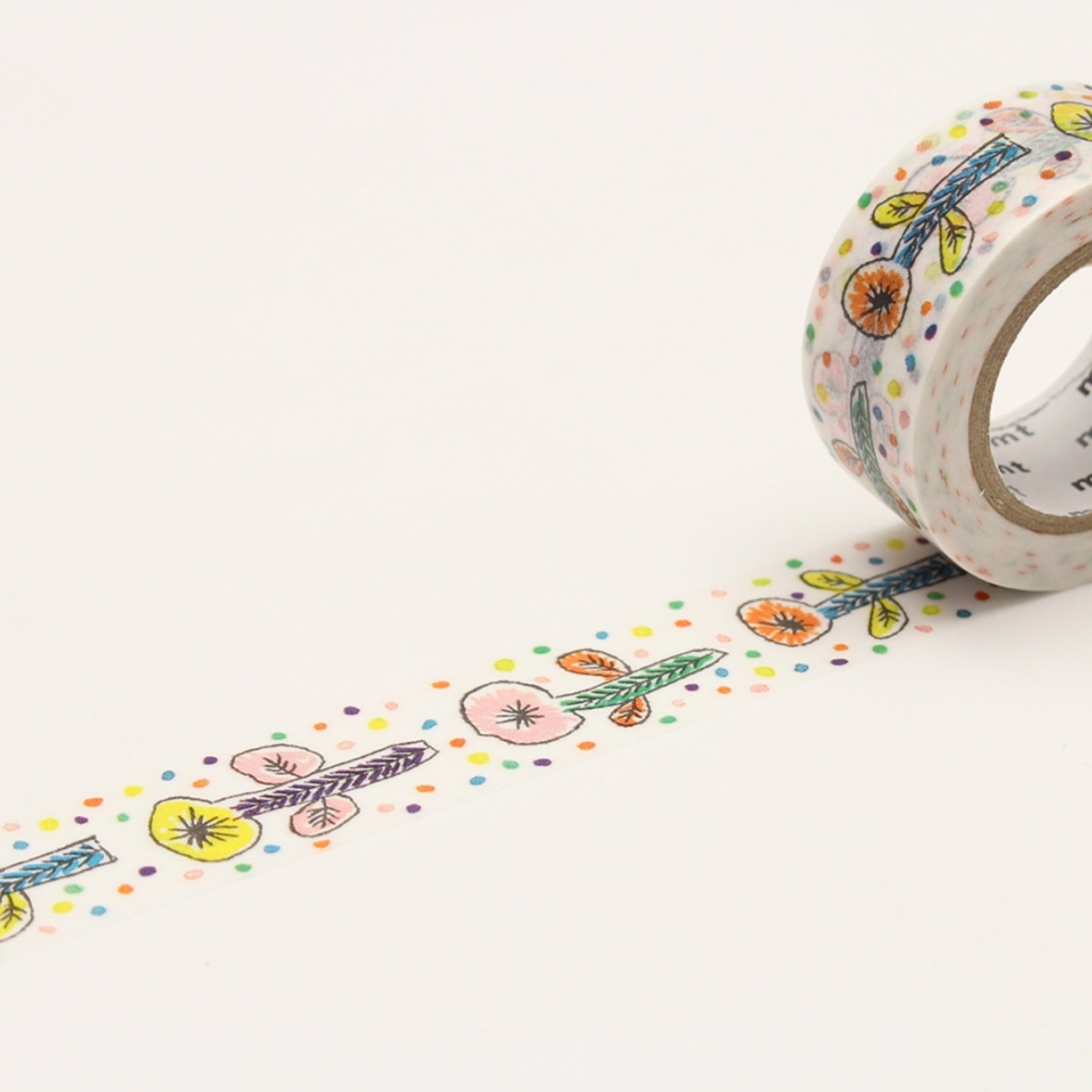 (DC) MT x Mina Perhonen Washi Tape Flower White
