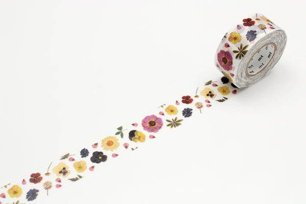mt for PACK pressed flower permanent tape (MTPACK09) | Washi Wednesday