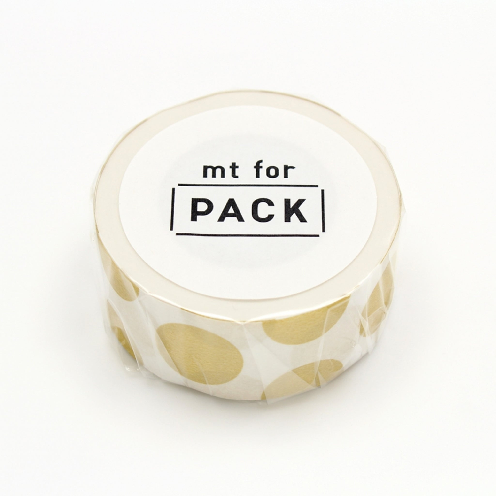 MT For Pack Permanent Tape Dot Gold