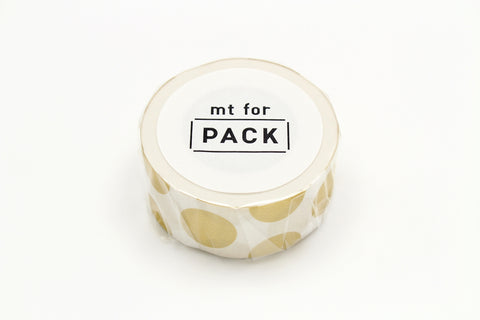mt for PACK dot gold permanent tape
