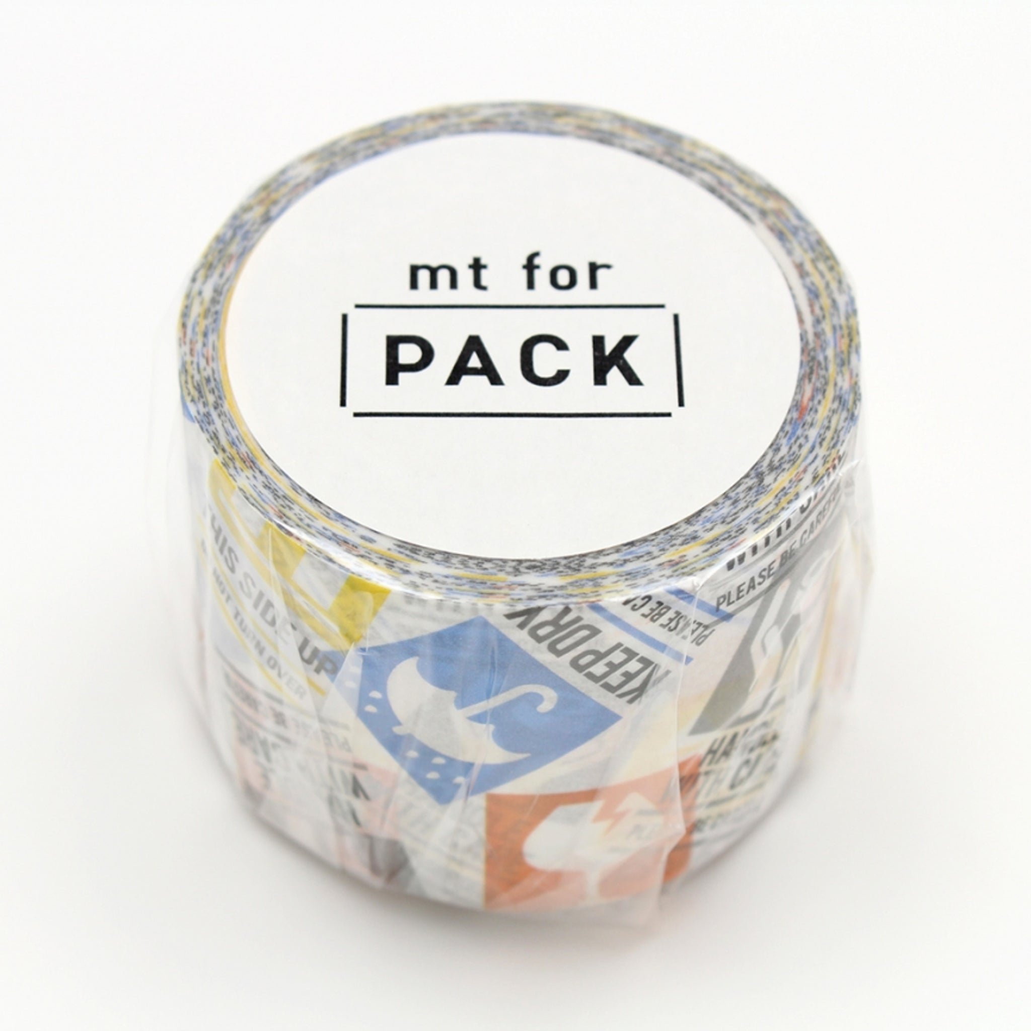 MT For Pack Permanent Tape Care Mark