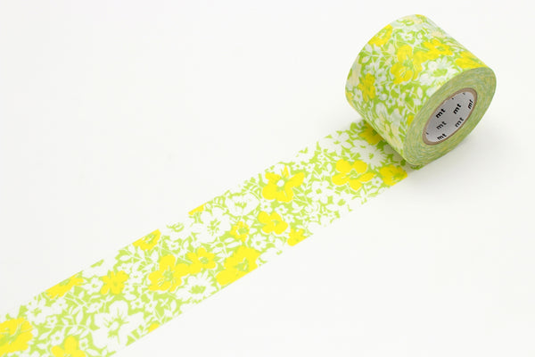 mt for PACK flower design permanent tape (MTPACK04) | Washi Wednesday