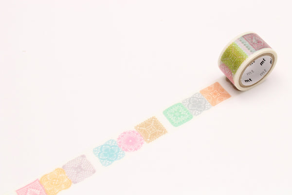 mt fab crochet washi tape (MTDP1P03) | Washi Wednesday