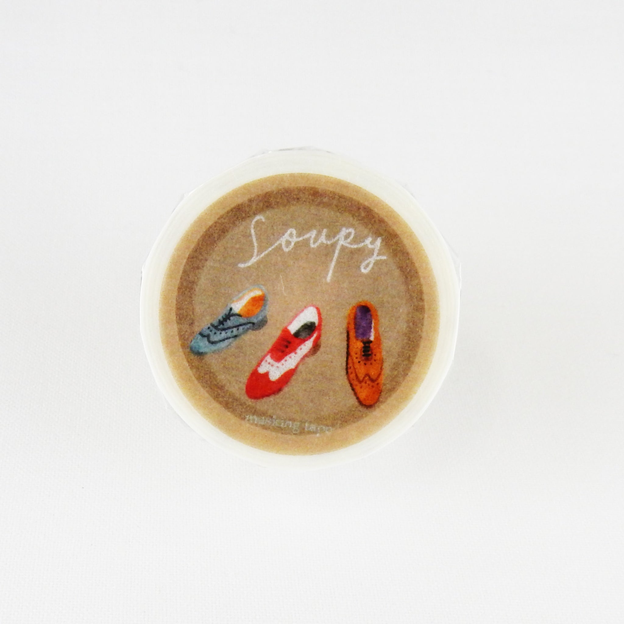 Round Top x Soupy Tang Shoes Washi Tape