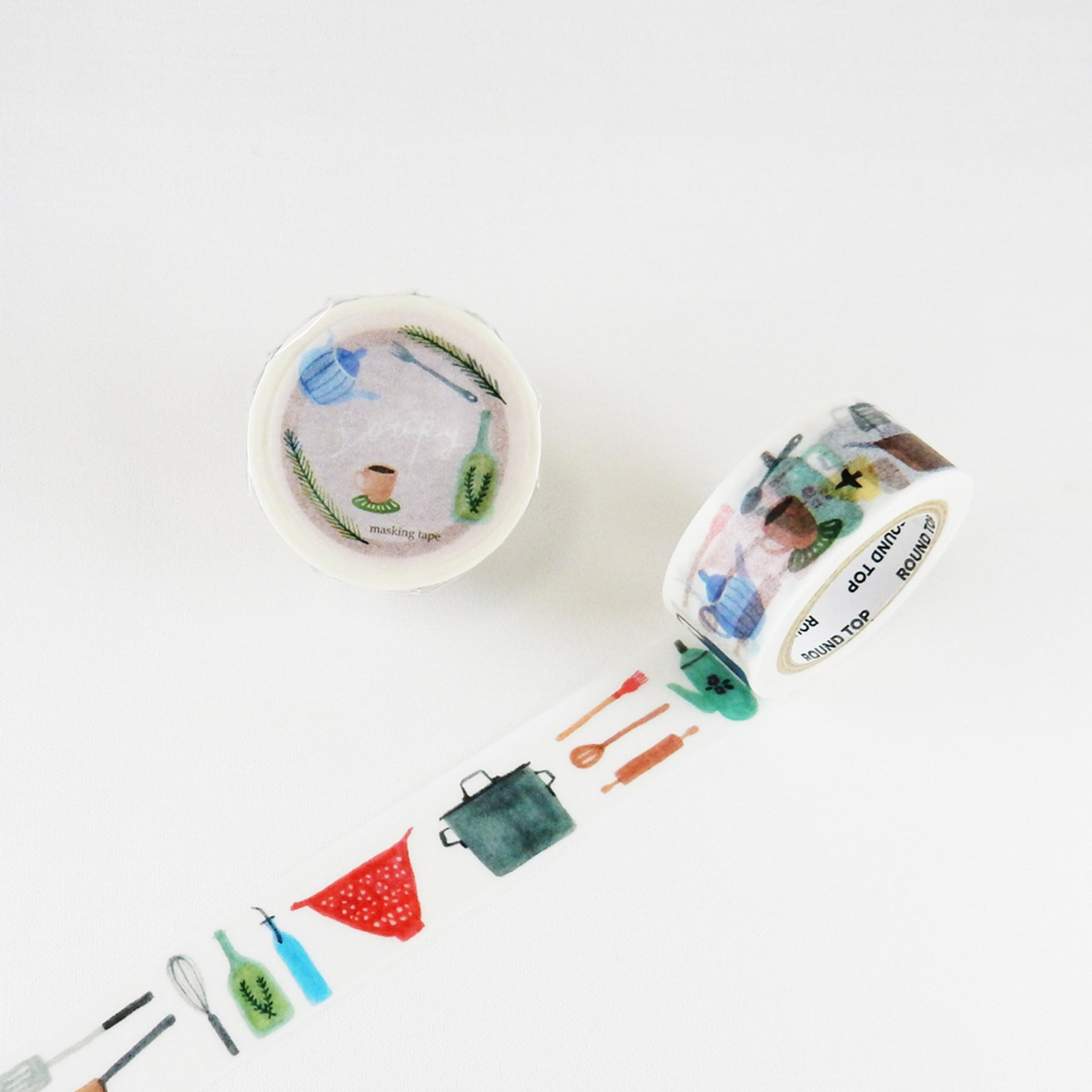 Round Top x Soupy Tang Kitchen Washi Tape