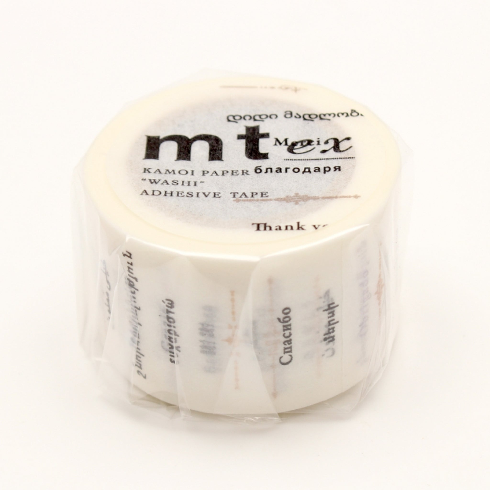 (DC) MT EX Washi Tape Thank You In The World