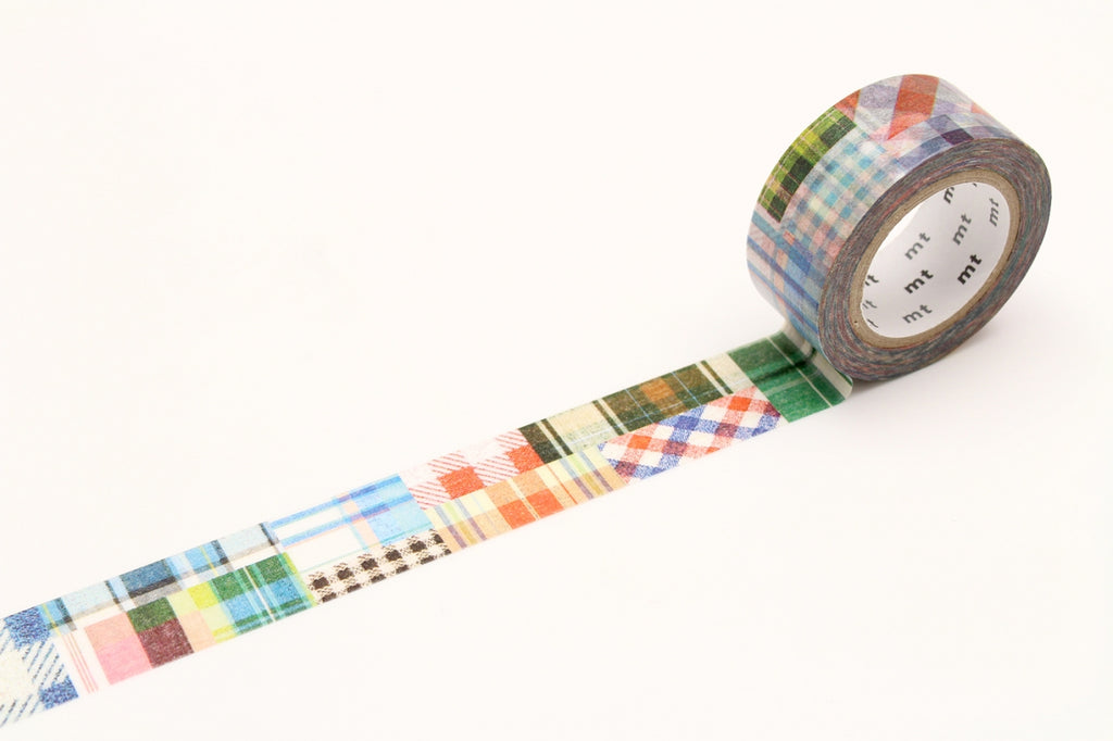 MT Patchwork washi tape (MTEX1P63) | Washi Wednesday