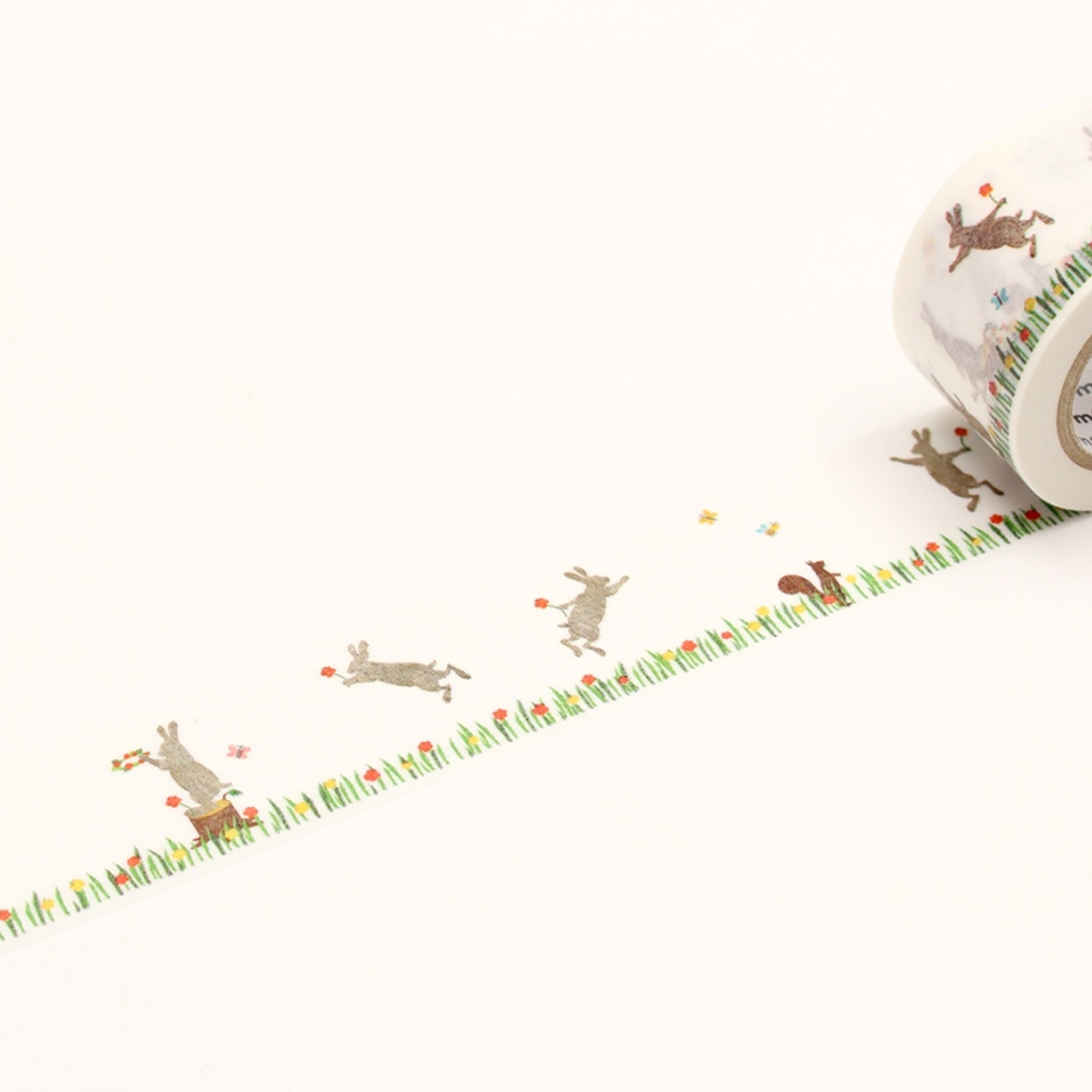 (DC) MT EX Washi Tape Kasaneru - Rabbit & Squirrel