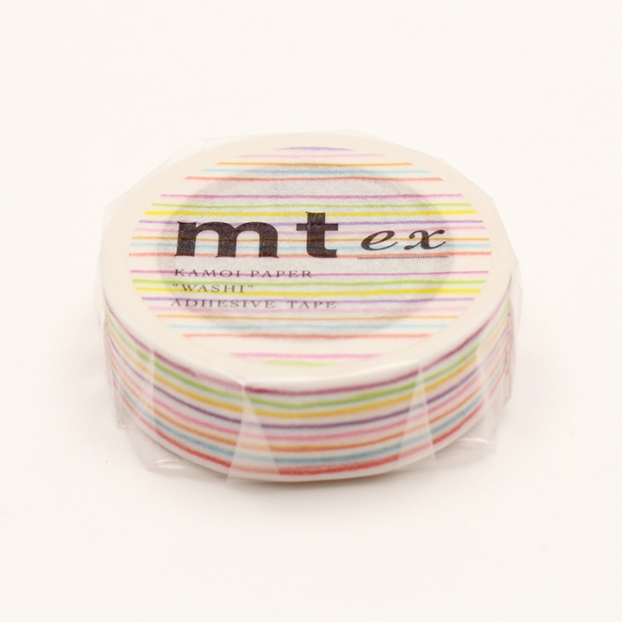 MT EX Washi Tape Iro Enpitsu Border