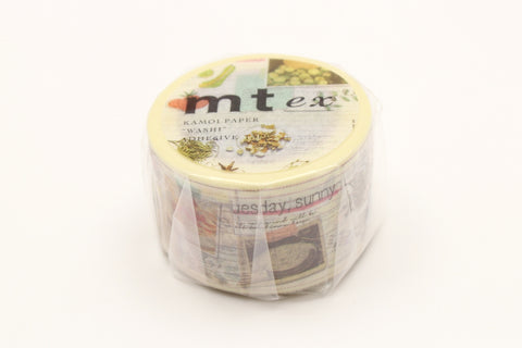 mt Diary Of Cook washi tape