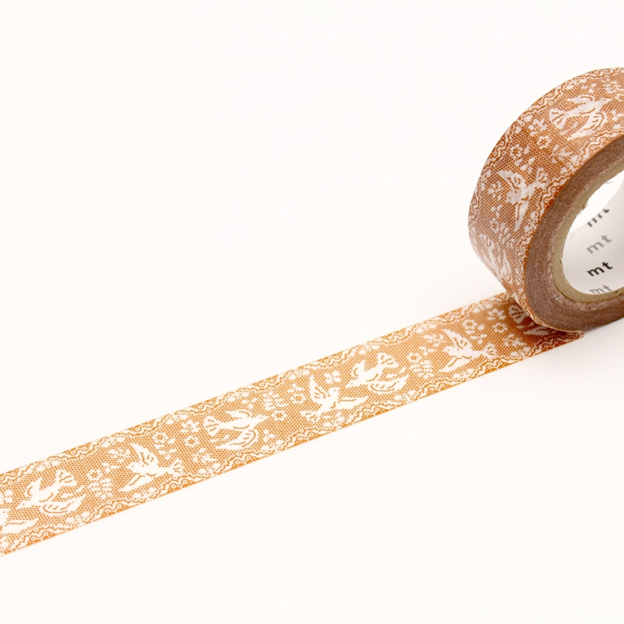(DC) MT EX Washi Tape Lace / Bird
