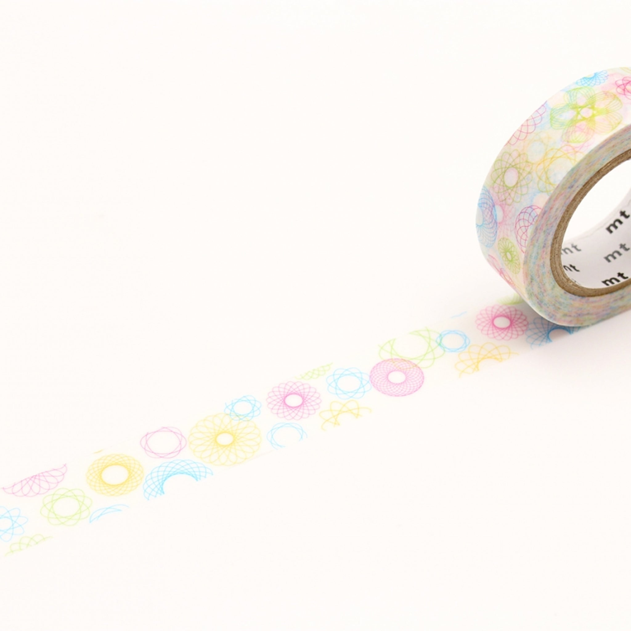 MT EX Washi Tape Spirograph