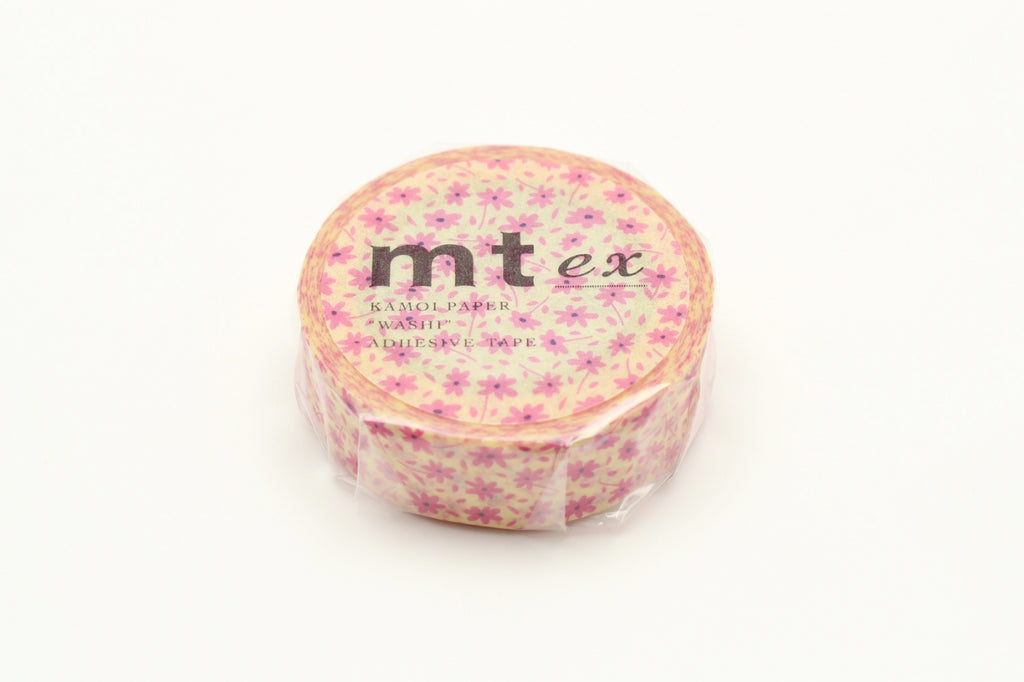 MT Pink Flower washi tape (MTEX1P118) | Washi Wednesday