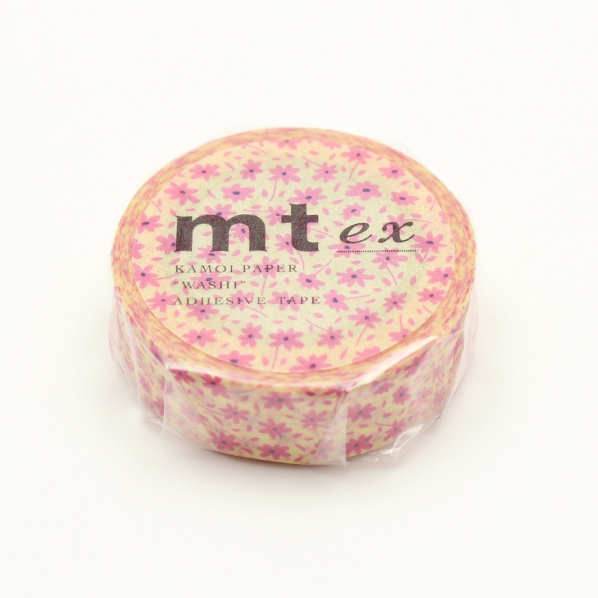 MT EX Washi Tape Pink Flower