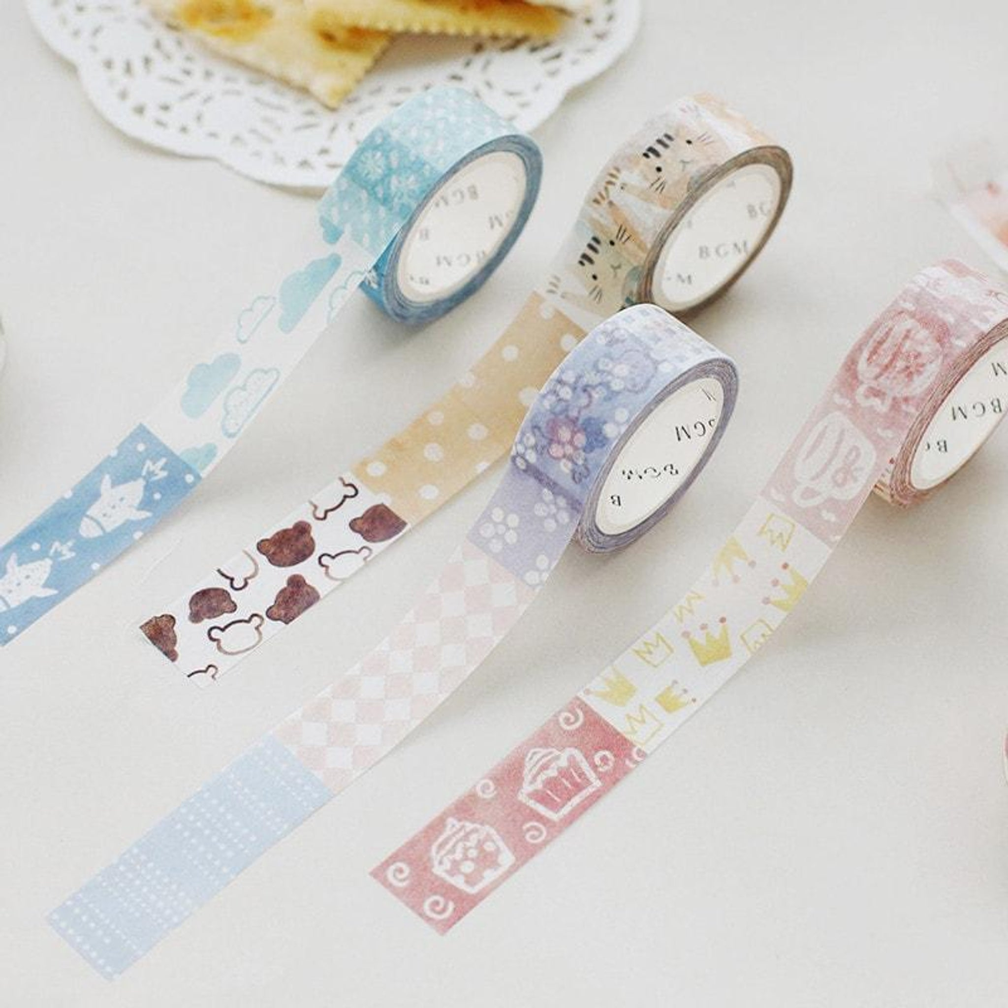BGM Pet Pattern Washi Tape