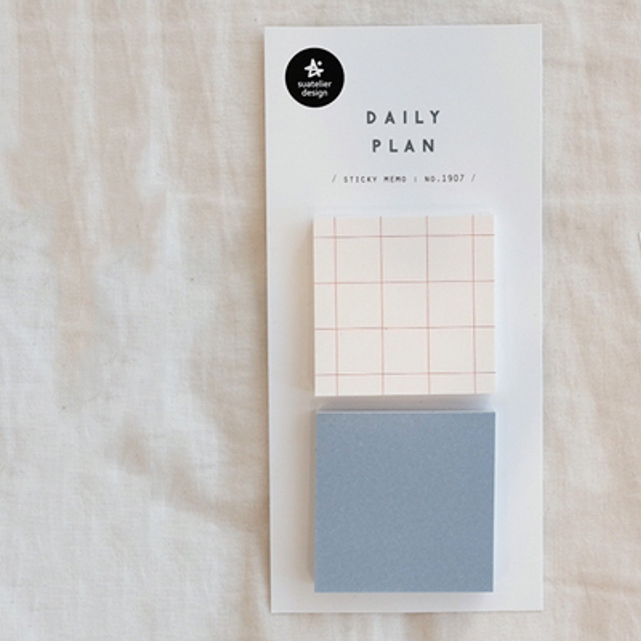 Suatelier Daily Plan Grid Sticky Memo