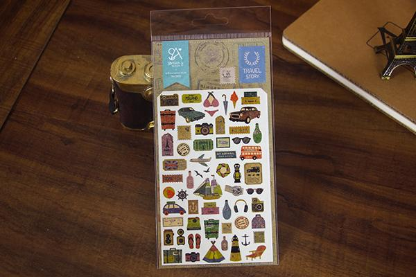 Sonia Travel Story sticker (2010) | Cute Korean Stickers | Washi Wednesday