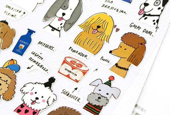 Sonia Momo sticker (2051) | Cute Korean Stickers | Washi Wednesday