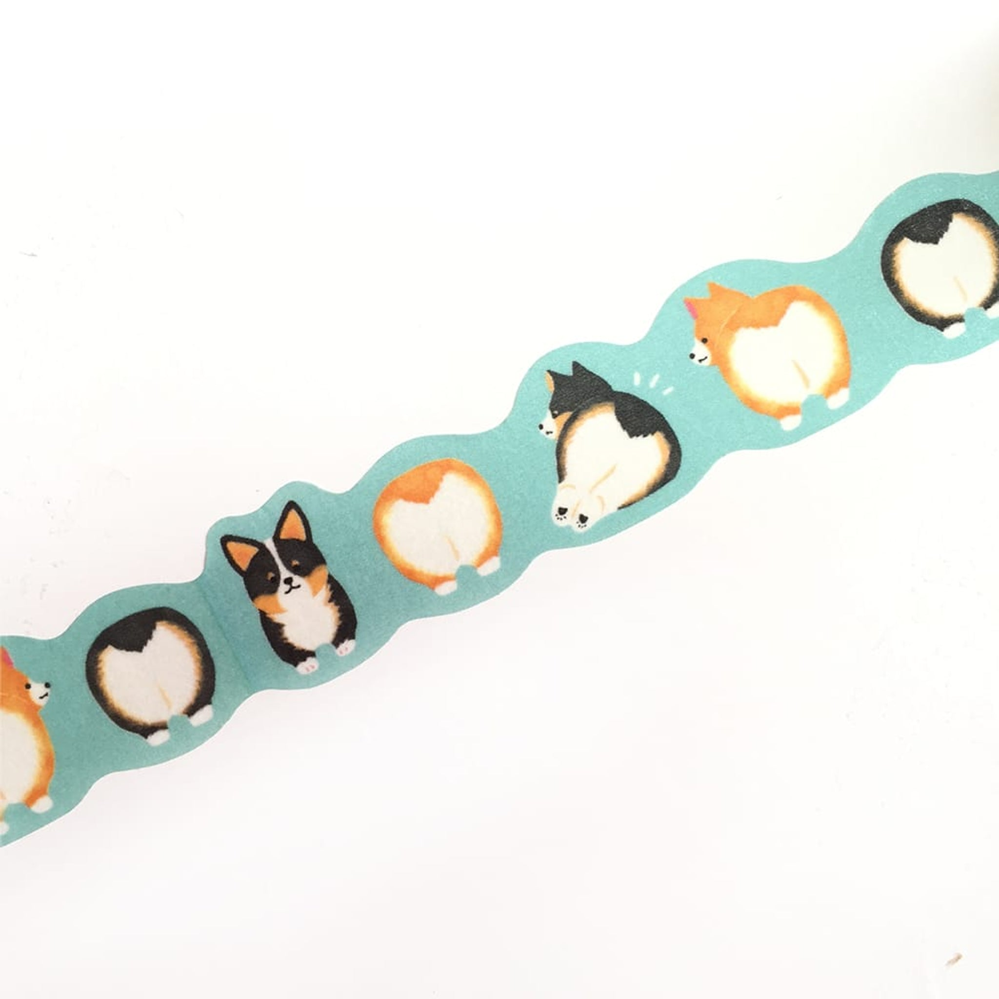 Mind Wave Washi Tape Corgi Buttocks