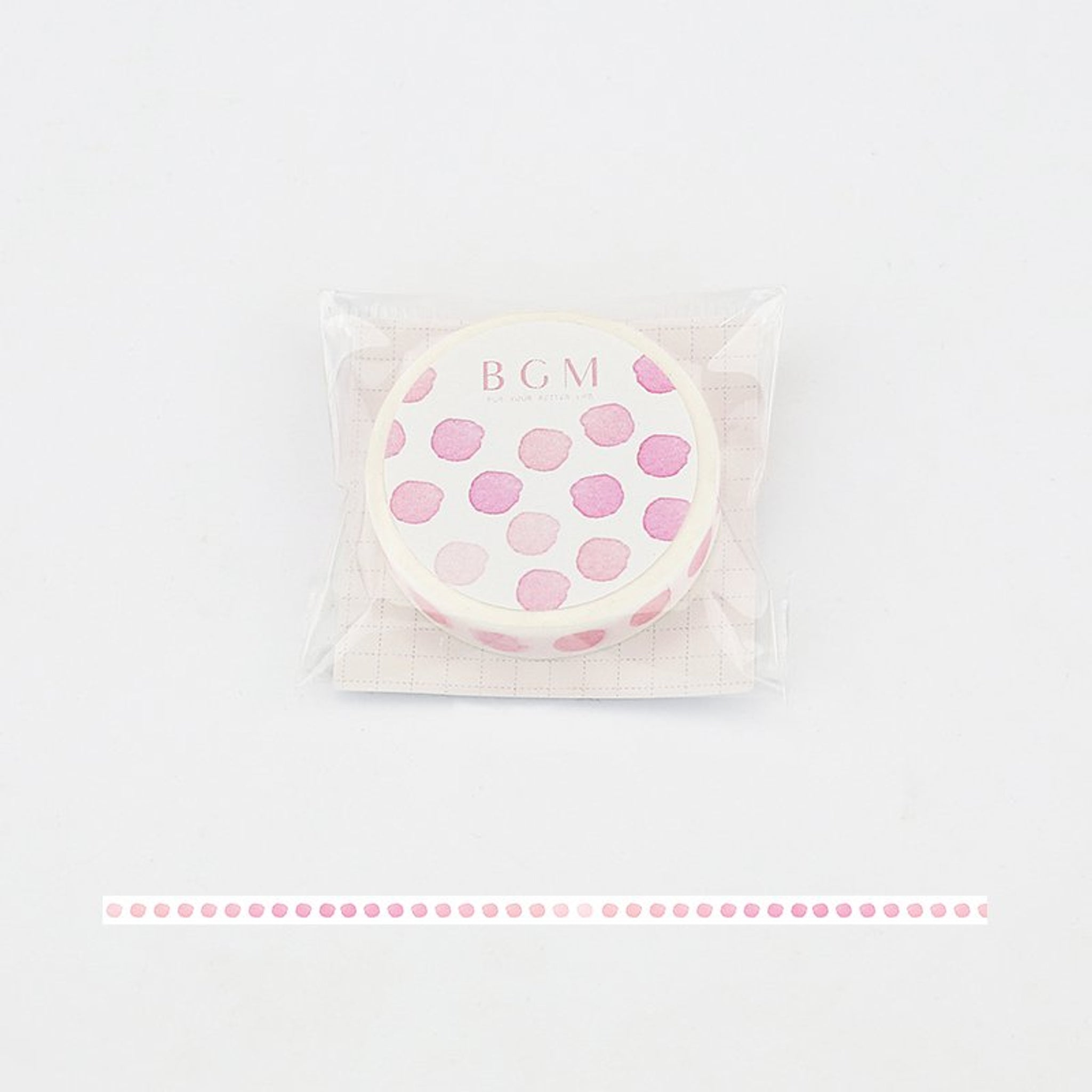 BGM Polka Dot Washi Tape
