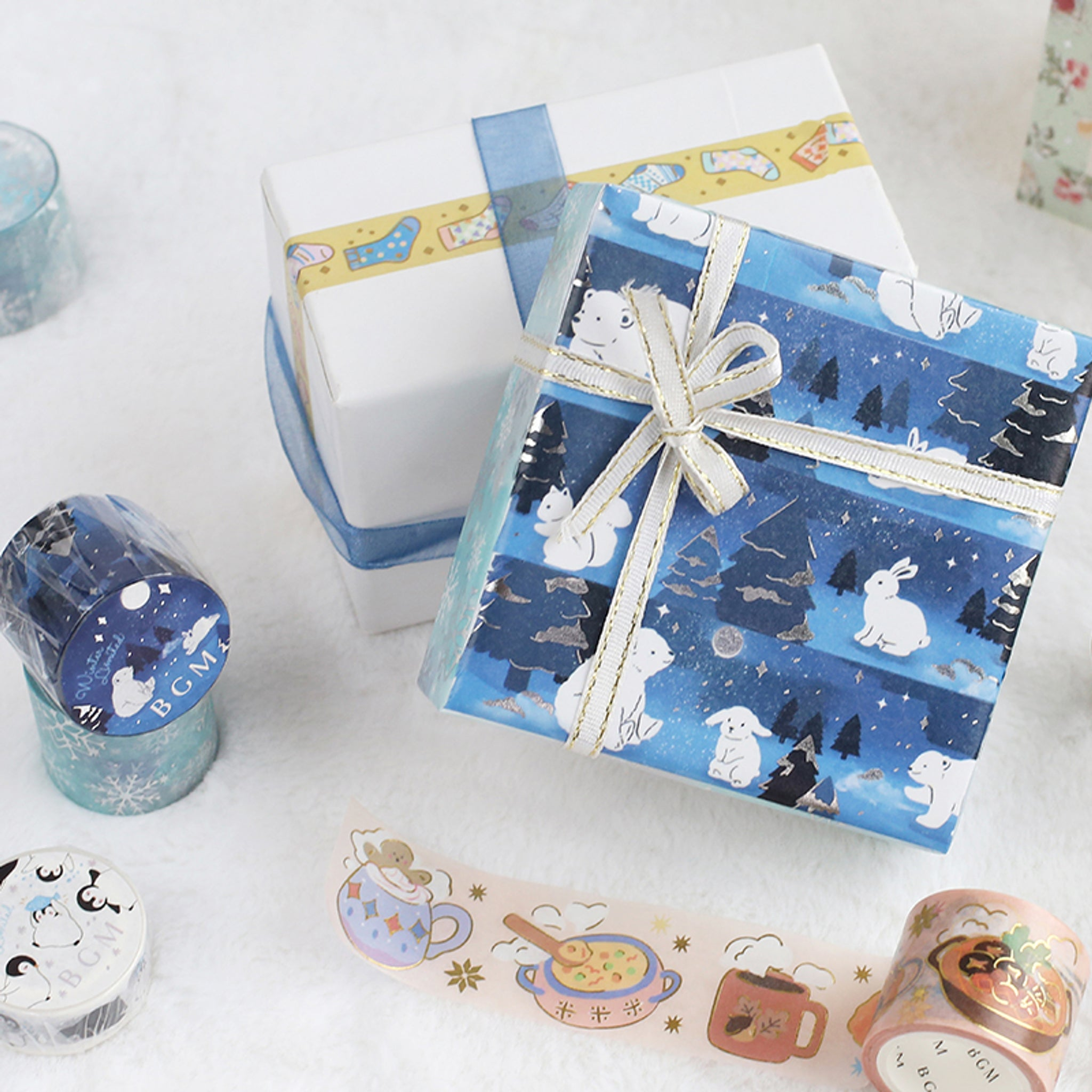 BGM Winter Socks Washi Tape