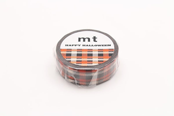 mt Halloween Check washi tape(MTHALL07) | Washi Wednesday