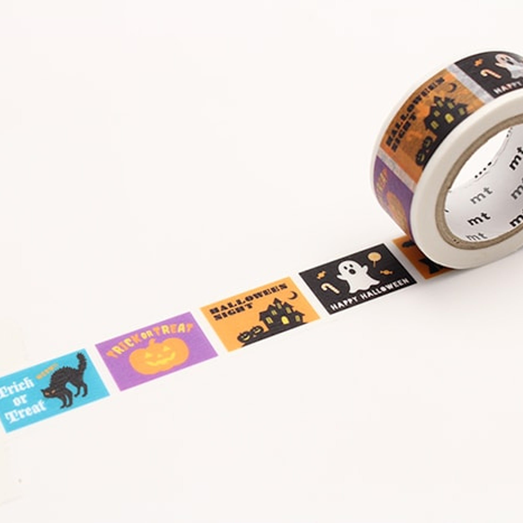 (DC) MT Halloween 2017 Washi Tape Halloween Label