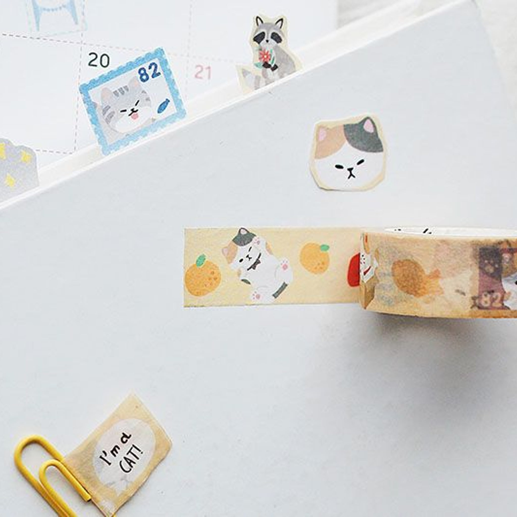 BGM Fox Washi Tape