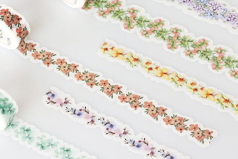 BGM Bouquet Of Red Washi Tape