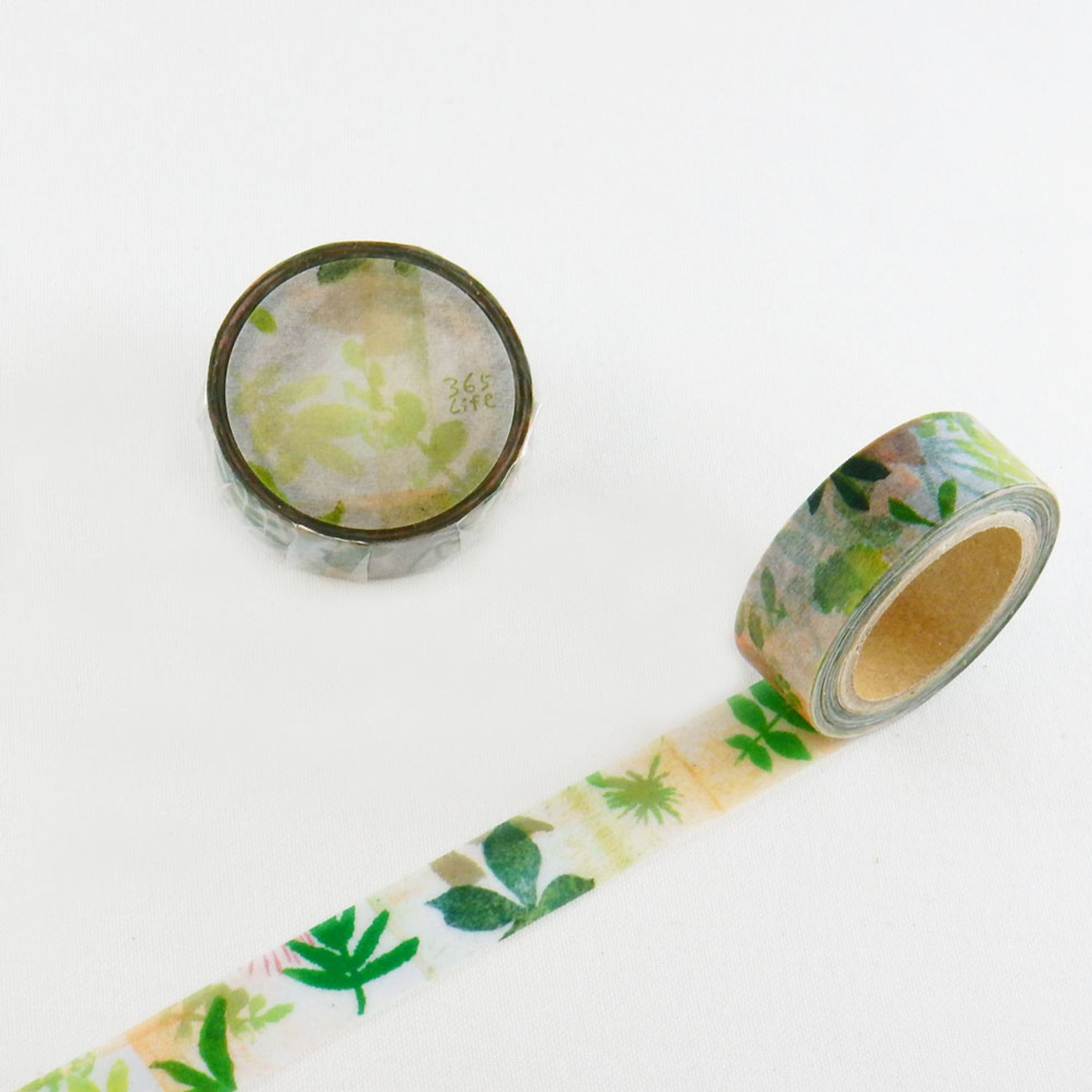 Round Top x ChamilGarden New Leaf Washi Tape